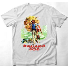 Fehér Bud Spencer gyerek rövid ujjú póló - Banana Joe