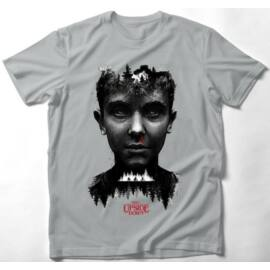 Stranger Things férfi rövid ujjú póló - Stranger Eleven Art