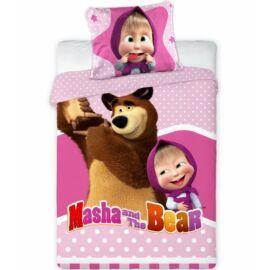 Mása és a medve gyerek ágyneműhuzat garnitúra