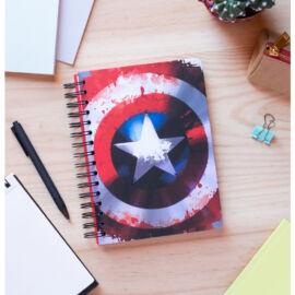 Amerika Kapitány jegyzetfüzet A5