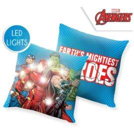 Bosszúállók LED világító párna, díszpárna
