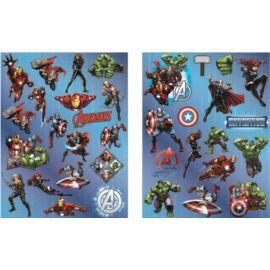 Marvel Bosszúállók hologrammos matrica szett