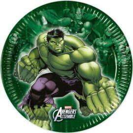Bosszúállók papírtányér 19,5 cm 8db-os szett - Hulk