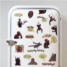 Deadpool hűtőmágnes szett