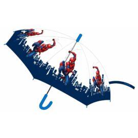 Pókember gyerek félautomata esernyő
