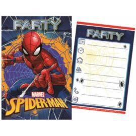 Marvel Pókember party meghívó