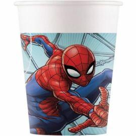 Pókember papír pohár szett