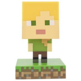 Minecraft Alex 3D ikon hangulatvilágítás