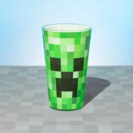 Minecraft üvegpohár - Creeper