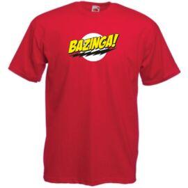 Agymenők - Bazinga Férfi rövid ujjú póló - Több színben