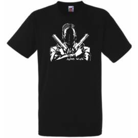 John Wick férfi rövid ujjú póló - Több színben