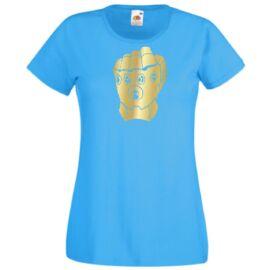 Azúrkék Szuperhősök - Női rövid ujjú póló - A kesztyű