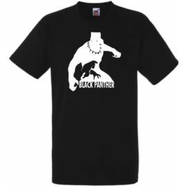 Fekete Párduc póló - Fekete
