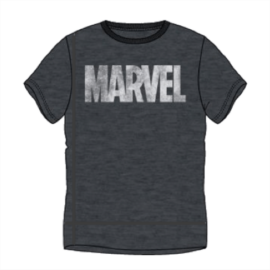 Marvel logó férfi rövid ujjú póló - Sötétszürke színben