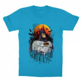 Batman gyerek rövid ujjú póló - Batman Comic Grunge