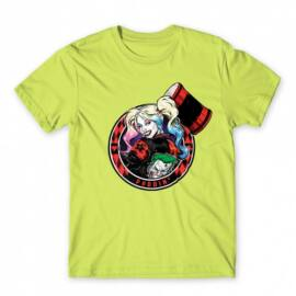 Harley Quinn férfi rövid ujjú póló - Puddin'