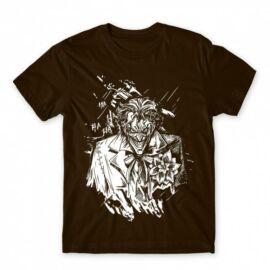 Joker férfi rövid ujjú póló - Joker Grunge