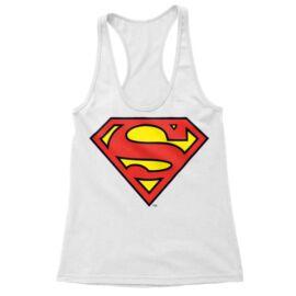 Fehér Superman - női trikó - Classic Logó