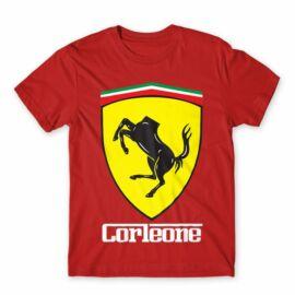 A Keresztapa férfi rövid ujjú póló - Corleone Ferrari