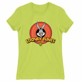 Bolondos dallamok női rövid ujjú póló - Bugs Bunny Logo