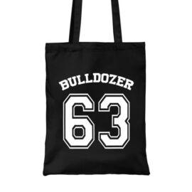 Fekete Bud Spencer vászontáska - Bulldozer 63