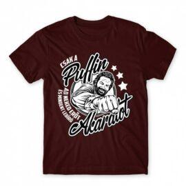 Bud Spencer férfi rövid ujjú póló - Csak a Puffin