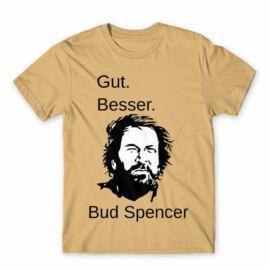 Bud Spencer férfi rövid ujjú póló - Gut Besser