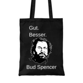 Fekete Bud Spencer vászontáska - Gut Besser