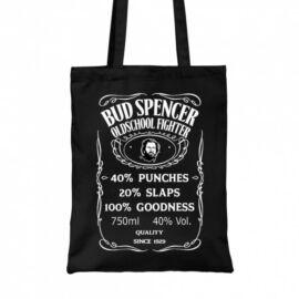 Fekete Bud Spencer vászontáska - Jack Daniel's