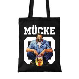 Fekete Bud Spencer vászontáska - Mücke