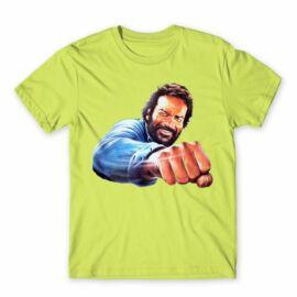 Bud Spencer férfi rövid ujjú póló - Pofon