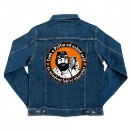 Bud Spencer unisex farmer kabát - Puffin lekvár