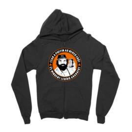 Fekete Bud Spencer zipzáros pulóver - Puffin lekvár