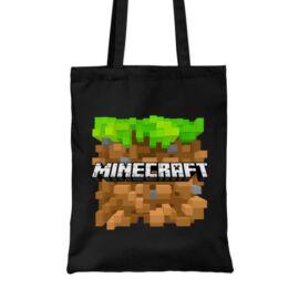 Minecraft vászontáska - Minecraft land