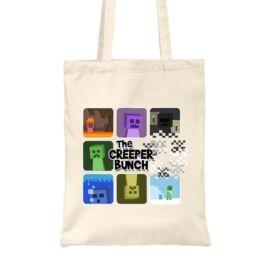 Minecraft vászontáska - The Creeper Bunch