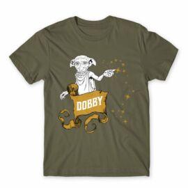 Cink Harry Potter férfi rövid ujjú póló - Dobby