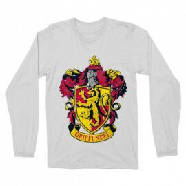 Harry Potter férfi hosszú ujjú póló - Griffendél logó
