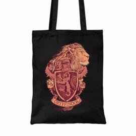 Fekete Harry Potter vászontáska - bevásárlótáska - Gryffindor