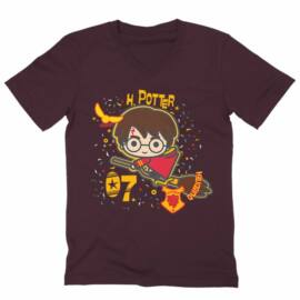 Harry Potter férfi V-nyakú póló - H. Potter 07
