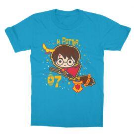 Atollkék Harry Potter gyerek rövid ujjú póló - H. Potter 07