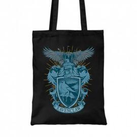 Fekete Harry Potter vászontáska - bevásárlótáska - Ravenclaw