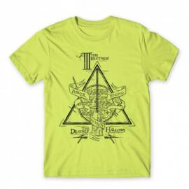 Harry Potter férfi rövid ujjú póló - The three brothers