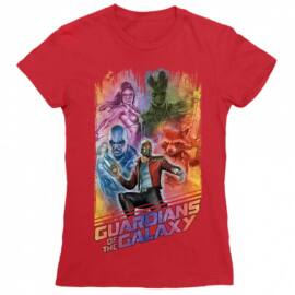A galaxis őrzői női rövid ujjú póló - Guardians Team Colors