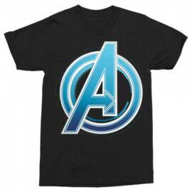 Fekete Bosszúállók - Avengers - Férfi rövid ujjú póló