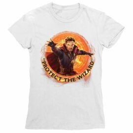Doctor Strange női rövid ujjú póló - Protect the Wizard
