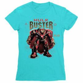 Atollkék Bosszúállók női rövid ujjú póló - Hulk Buster
