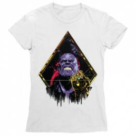 Marvel Thanos női rövid ujjú póló - Thanos Univerzum - Több színben