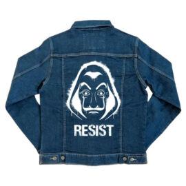 A nagy pénzrablás unisex farmer kabát - Money Heist Resist