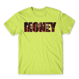 A nagy pénzrablás férfi rövid ujjú póló - Money