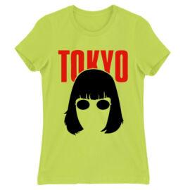 Almazöld A nagy pénzrablás női rövid ujjú póló - Tokyo